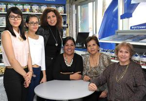 24112015 Wendy, Alejandra, Fabiola, Elizabeth, Irene y Consuelo.