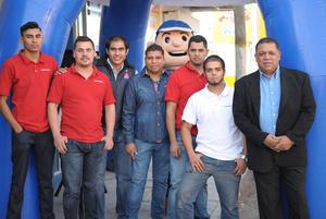 24112015 Alberto, Daniel, Josafat, Érick, Jesús, Luis y Gerardo.
