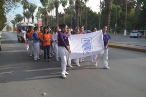 Laguneros marcharon por las calles de Gómez Palacio y Lerdo.