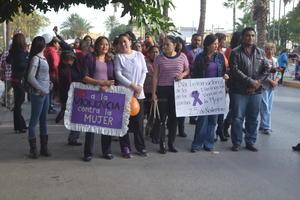 Se realizó una marcha para expresar rechazo hacia estas manifestaciones de violencia.