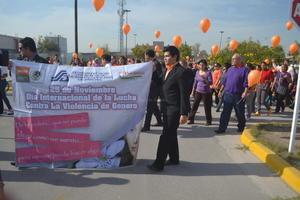 La Laguna conmemoró el Día Internacional de la Eliminación de la Violencia contra la Mujer.