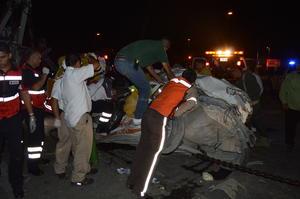 A pesar de lo aparatoso del accidente, no hubo víctimas mortales.
