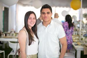 Denise Barrios y Santiago Morales