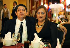 Héctor Carlos y Claudia
