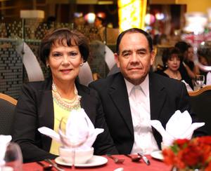 Lourdes Padilla y Armando Hernández