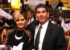Pilar Gámez y Carlos Díaz