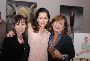 Angélica, Daniela y Laura
