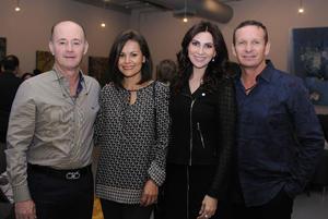 Bernardo, Pilar, Sonia y Alberto