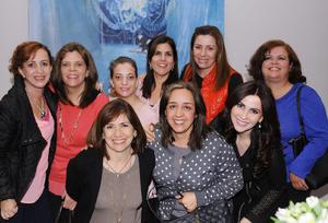 Bibi, Susana, Sandra, Magda, Laila, Gaby, Lorena, Sonia y Cecy