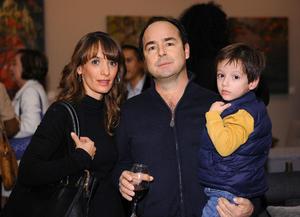 Emma, Alberto y Luis