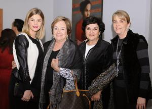 Mariana, Rosy, Bertha y Cristina
