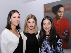 Nuri Ramos, Mariana Sesma y Mari Jose Ramos