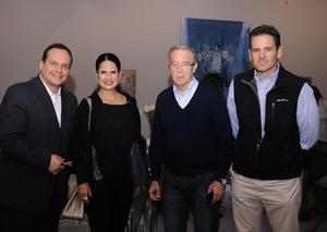 Rodolfo, Any, Armando y Fernando