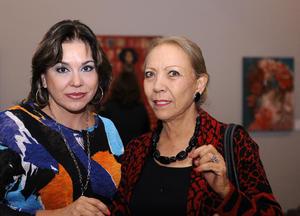 Sandra Fernández y Elva Méndez