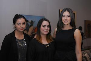 Sandra Flores, Diana Fierro y Paola Ilizarraras