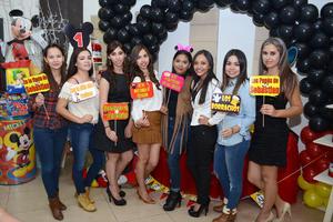 28112015 Marisol, Érika, Lizeth, Brenda, Cecy, Kelly, Mague y Marcela.
