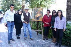 27112015 CUMPLEAñOS.  Luis Eduardo Alvarado Morales con sus familiares y amigos.
