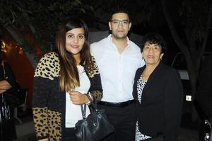 28112015 Jessica Mazzoco, Alejandro Aguilar, Bernardo Aguilar y Bernardo Aguilar.