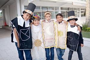 29112015 Manuel, Bruno, Elías, Jonathan y Alan.