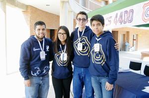 29112015 Alexia Herrera, Daniel Herrera, Elian Ramos y Ranferi Lozano.