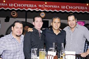 29112015 AMIGOS.  José, Francisco, Eduardo y Alejandro.