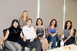 01122015 Chepis de Campos, Katia Argüelles, Susana Estens, Patricia, Susana y Yolanda.