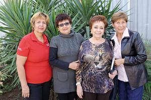 02122015 Lidia, Juanita, Magdalena y Rosy.