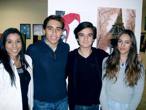 03122015 Alejandra, Eduardo, Noé e Ivana.