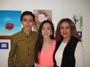 03122015 Oswaldo, Ciara y Esperanza Sánchez.