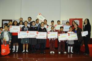 Se realizó la ceremonia de premiación de los ganadores del concurso Leemos.
