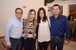 04122015 Héctor, Verónica, Daniela y Guille.