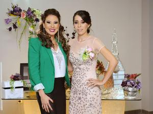 05122015 ADIóS A LA SOLTERíA.  Nancy con Joana B. Guzmán.