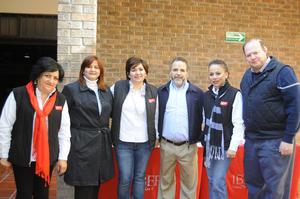 05122015 Viglo, Lupita, Pamela, Zulema, Laura, Ale y Paloma.