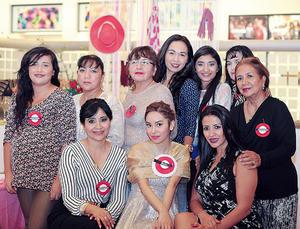 06122015 Areli, Cecilia, Mayela, Zuri, Samira, Josefina, Lucila, Neri Yadira y Laura Félix