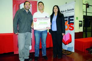 06122015 Juan Ángel Fernández, Martín González y Fátima González Lira.