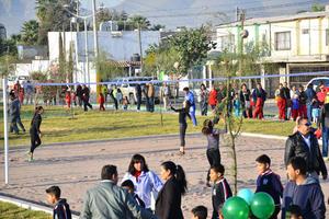 La Línea Verde servirá para que los vecinos desarrollen distintas actividades recreativas como el deporte.