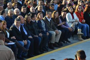El alcalde de Torreón, Miguel Riquelme, y el gobernador de Coahuila, Rubén Moreira, encabezaron el evento.