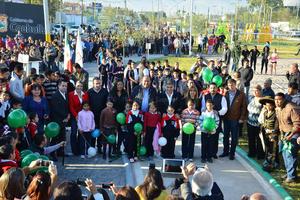 Se entregó la Línea Verde en la ciudad de Torreón que servirá como corredor ecológico para 18 colonias de la ciudad.