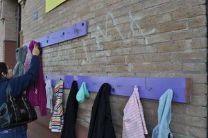 Marina, dueña del café La Ofrenda e integrante de la asociación Distrito Colón, comenzó esta actividad desde el pasado sábado con gran respuesta.