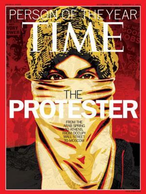 """La lucha de quienes impulsaron el movimiento conocido como """"Primavera Árabe"""" fue elogiada en 2011."""