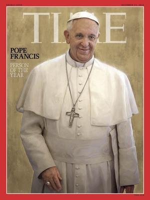 El particular estilo del recién ascendido Papa Francisco para dirigir la Iglesia Católica fue objeto de reconocimiento en 2013.