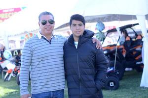 08122015 Lluvia y José.