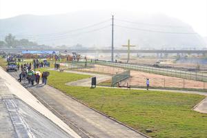 Es una zona con vitapista, ciclopista, patinadero, juegos infantiles, y áreas verdes.