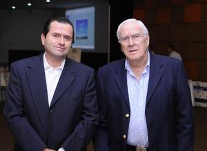 Gerardo Dueñes y Constantino Jiménez