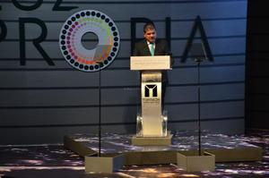El alcalde Miguel Riquelme presentó su Segundo Informe de Gobierno a la ciudadanía.