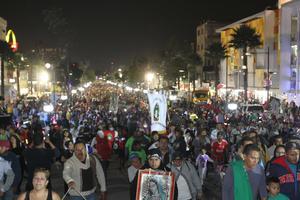 Las personas acudieron de varias partes de la República Mexicana.