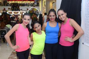 11122015 Andrea, Goreti, Sofía y Sofía.
