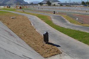 A días de haber sido inaugurado, el Metro-Parque del Río Nazas ya luce fallas.