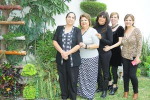 10122015 Gina, Lupita, Flor, Angie y Quetita.