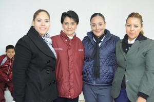 14122015 Tania, Roxana, Dora y Raquel.